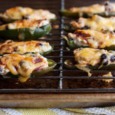 BBQ Black Bean Jalapeno Poppers