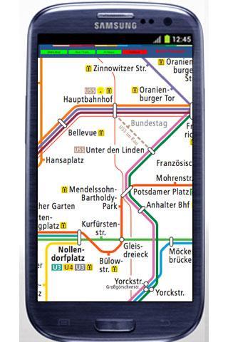 柏林地鐵電車地圖