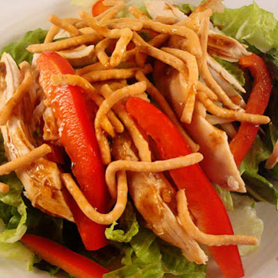 Asian Chicken Salad with Hoisin Vinaigrette
