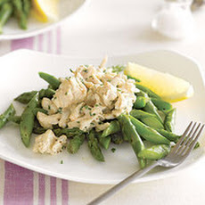 Creamy Crab and Asparagus Salad