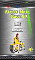 Screenshot of Street Moto Race 3D