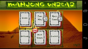 Screenshot of Mahjong Undead