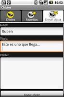 Screenshot of Chistes