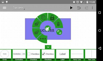 Screenshot of Mocking Pal (mockup/wireframe)