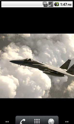 Air Force Cool Live Wallpaper