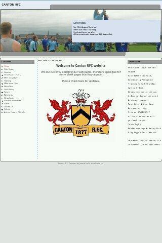 【免費運動App】Canton RFC Website-APP點子