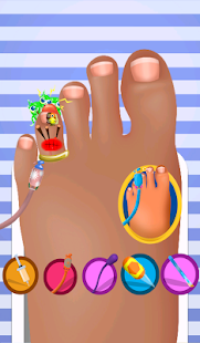 Feet Game Doctor - screenshot