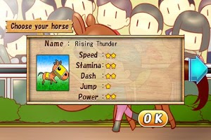 Screenshot of Racing Jockey
