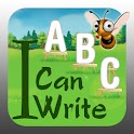 I Can Write Kids ABC Writing