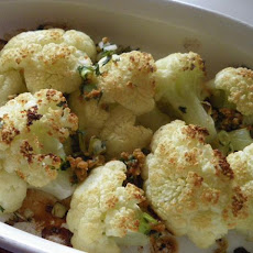 Orange Zested Cauliflower