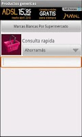 Screenshot of Productos genericos