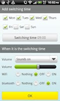 Screenshot of Auto Switch(Wifi,BT,Sound)