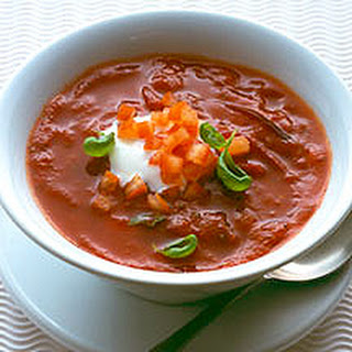 Speedy Tomato And Basil Soup