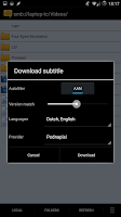 Screenshot of Subtitle Downloader Pro