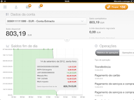 Screenshot of Caixadirecta