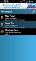 Screenshot of London Tube And Bus