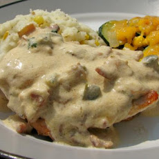 Chicken With Jalapeno Popper Sauce