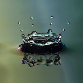 by Tejpal Singh - Abstract Water Drops & Splashes (  )