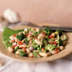Broccoli-and-Cannellini Bean Salad