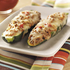 Beef-Stuffed Zucchini Recipe