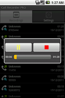 Screenshot of Call Recorder PRO