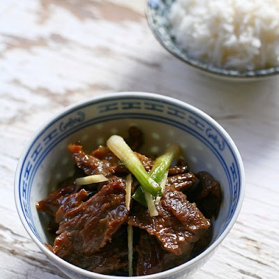 Ginger and Scallion Beef (姜葱牛肉)