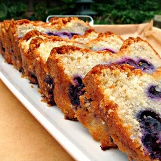 Moist Blueberry Lemon Pound Cake
