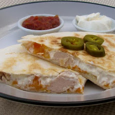 Quick and Easy Chicken Quesadillas