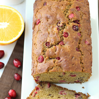 Cranberry Orange Pecan Quick Bread
