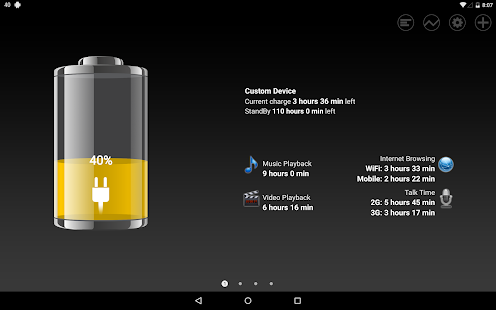 Battery HD for Lollipop - Android 5.0