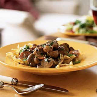 Beef Bourguignonne with Egg Noodles