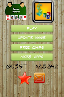 Screenshot of Texas Holdem Poker Zap