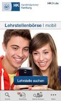Screenshot of Lehrstellenbörse mobil