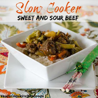Slow Cooker Sweet and Sour Beef