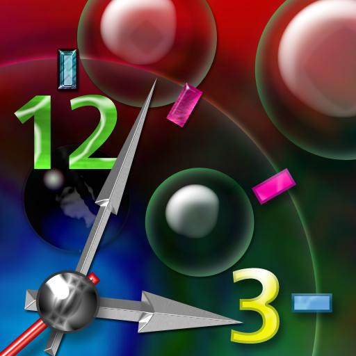 酷泡泡時鐘 個人化 App LOGO-APP試玩