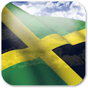 3D Jamaica Flag + icon