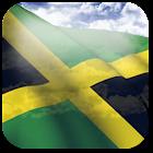 3D Jamaica Flag icon