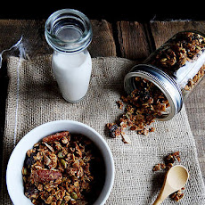 Cherry Pecan Maple Granola