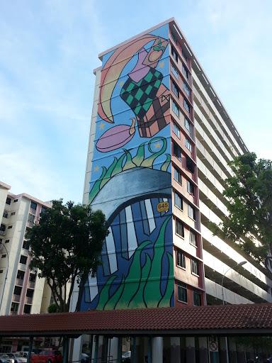 Wonderful Festive Mural