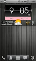 Screenshot of 3D Flip Clock Theme Pack 01