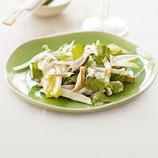 Jasmine Tea-smoked Chicken Salad