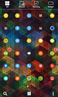Screenshot of Colorful Circle Dodol Theme