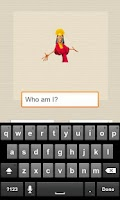 Screenshot of Character Quiz