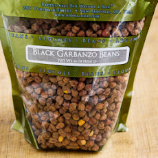 Slow Cooker Recipe for Vegan Black Garbanzo Bean Curry