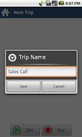 Screenshot of SimpleMile