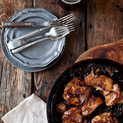 Honey Chili Beer Chicken