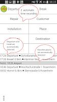 Screenshot of GPS Time Tracker - Logbook