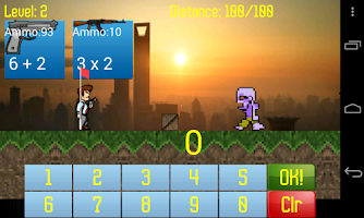 Screenshot of Math Monsters
