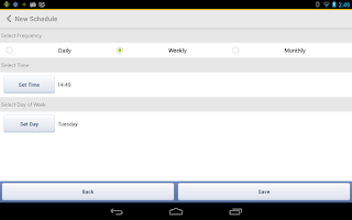 Screenshot of truBackup - Mobile Backup