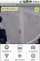 Screenshot of GPS Surveyor Free